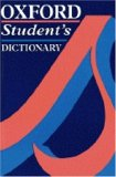 Oxford Student's Dictionary Of Current English