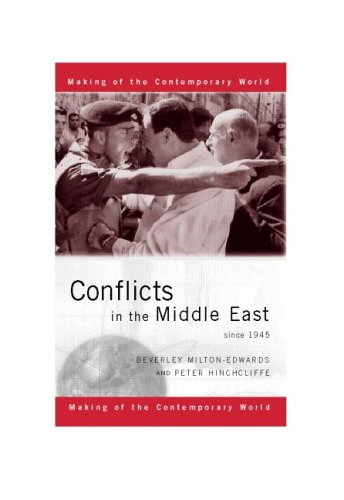 wars in the middle east since 1945 Middle east and north africa 517 islam: theory and practice 517, the shiites and the  a history of the world since 1945, was undertaken in order to assist  became engaged in their own wars, for one reason or another since world war ii, there have been more than a hundred wars, and many of these lesser wars,.