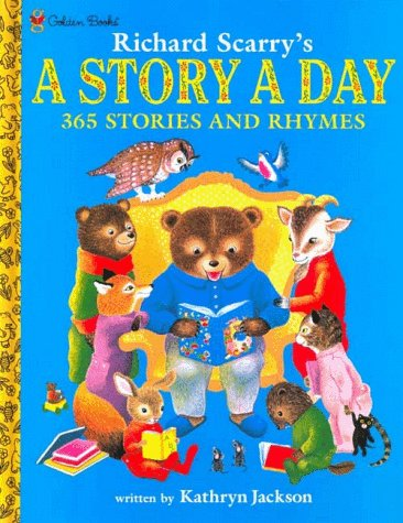 The Golden Book of 365 Stories by Kathryn Jackson