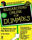 Researching Online for Dummies [With Contains Demos, Free Tools, a Web Browser...]
