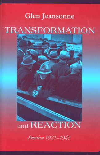 Transformation and Reaction by Glen Jeansonne
