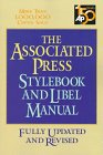 Associated Press Stylebook And Libel Manual