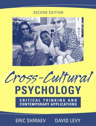 Cross-Cultural Psychology by Eric Shiraev