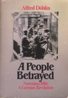 A People Betrayed (November 1918, #2)