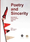 Poetry and Sincerity (International Poetry Festival Indonesia 2006)