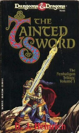 The Tainted Sword (The Penhaligon Trilogy #1)