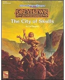 City of Skulls, Wgr6 by Carl Sargent