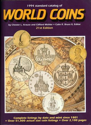 1994 Standard Catalog of World Coins, 1801-present by Chester L. Krause