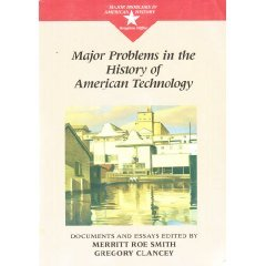 Major Problems in the History of American Technology