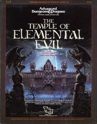 Advanced Dungeons and Dragons Module Temple of Elemental Evil/1 (T2a)