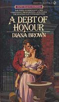 A Debt of Honour by Diana Brown