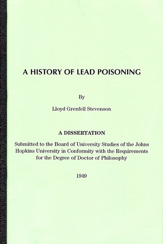 A History Of Lead Poisoning