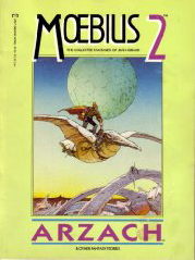 Moebius 2: Arzach and Other Fantasy Stories