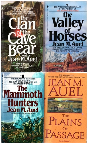 The Clan of the Cave Bear, the Valley of Horses, the Mammoth ... by Jean M. Auel