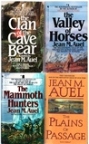The Clan of the Cave Bear, the Valley of Horses, the Mammoth Hunters, the Plains of Passage (Earth's Children, #1-4)