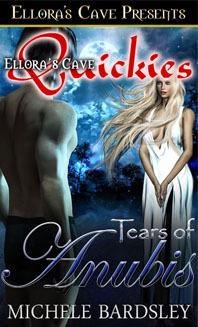Tears of Anubis by Michele Bardsley