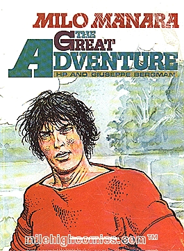 The Great Adventure by Milo Manara