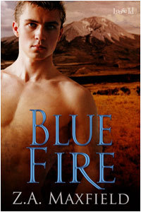 Blue Fire by Z.A. Maxfield