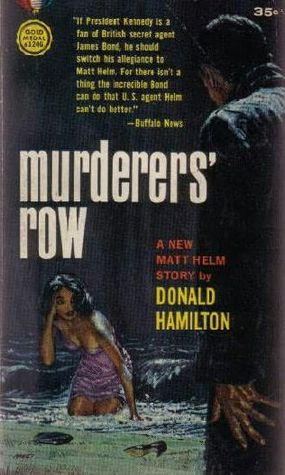 Murderers' Row by Donald Hamilton