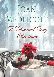 A Blue and Gray Christmas by Joan Medlicott
