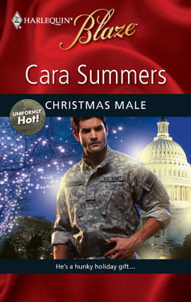 Christmas Male (Uniformly Hot! #12) by Cara Summers