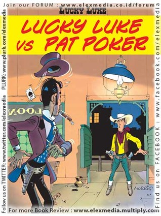 Lucky Luke vs Pat Poker by Morris