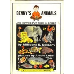 Benny's Animals and How He Put Them In Order