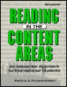 Reading In The Content Areas: An Interactive Approach For International Students: Advanced