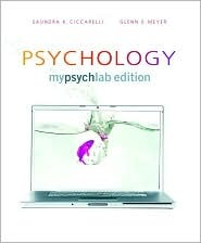 Psychology, MyPsychLab Edition [with MyPsychLab Pegasus & eTe... by Saundra K. Ciccarelli