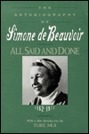 All Said and Done by Simone de Beauvoir