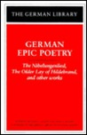 German Epic Poetry by Francis G. Gentry