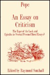 An Essay on Criticism by Raymond Southall