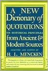 New Dictionary of Quotations