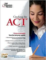 Cracking the ACT with DVD, 2009 Edition by Princeton Review