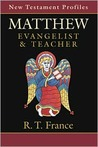 Matthew: Evangelist & Teacher