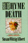 Thyme of Death (China Bayles #1)
