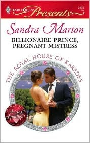 Billionaire Prince, Pregnant Mistress (The Royal House of Karedes #1)