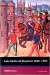 Late Medieval England 1399-1509