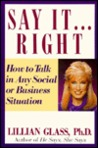 Say It...Right by Lillian Glass