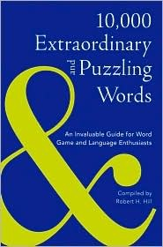 10,000 Extraordinary and Puzzling Words