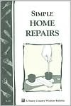 Simple Home Repairs by U.S. Department of Agriculture