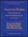 Assyrian Rulers of the Third & Second Millennia BC (Royal Inscriptions of Mesopotamia Assyrian Period)