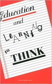 Education and Learning to Think