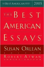 The Best American Essays 2005 by Susan Orlean