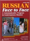 Russian Face to Face, Book 1, Student Edition