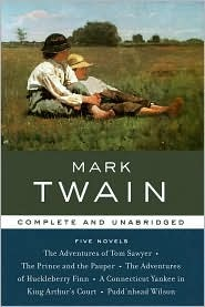 Five Novels by Mark Twain