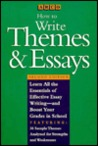 How to Write Themes and Essays