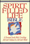 Spirit Filled Life Bible by Anonymous