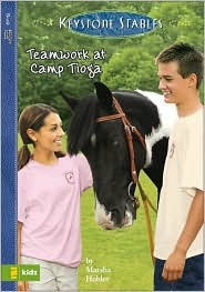 Teamwork at Camp Tioga (Keystone Stables #4)