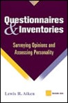 Questionnaires and Inventories: Surveying Opinions and Assessing Personality